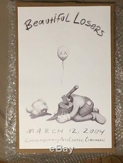 Kaws X Beautiful Losers Offset Printed Poster 04 New Unframed In Hand! Ships Nd