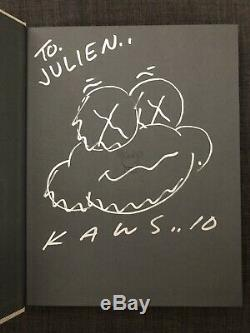 Kaws X Rizzoli hardbook SIGNED 2010