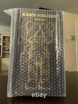Kaws holiday space gold