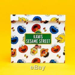 Kaws x Sesame Street Uniqlo Plush Toy Box Set Limited Edition Ships Today