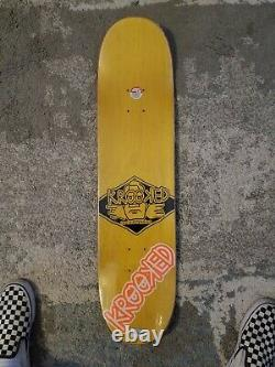 Krooked Cromer Kurt Cobain Skateboard Deck NIS. Nirvana Mark Gonzales KAWS