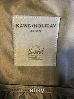 Limited Novelty Kaws Holiday Japan Backpack rucksack Herschel supply BLACK