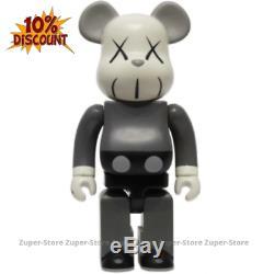 Medicom Bearbrick KAWS Be@rbrick 400% Collection Action Figure Toys