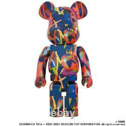 Medicom Toy BE@RBRICK KAWS TENSION 1000% figure bearbrick kaws first tokyo