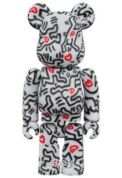 Medicom Toy BE@RBRICK KEITH HARING #8 100 & 400 BEARBRICK BASQUIAT KAWS