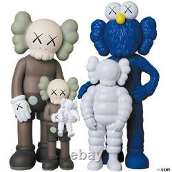 Medicom Toy KAWS FAMILY BROWN/BLUE/WHITE figure kaws first tokyo BE@RBRICK