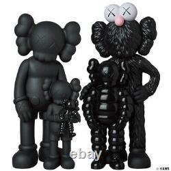 Medicom Toy KAWS FAMILY Black figure kaws first tokyo BE@RBRICK