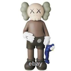 Medicom Toy Kaws Share Brown Vinyl Figure Art Toy BE@RBRICK