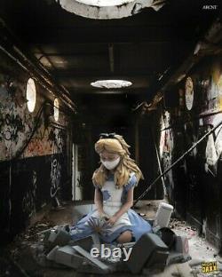 Mighty Jaxx Alice in Wasteland Statue by ABCNT Medicom Kaws