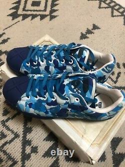 NEW A BATHING APE x KAWS Bapesta US12 Sneaker Shoes BAPE camouflage ULTRA SKULL