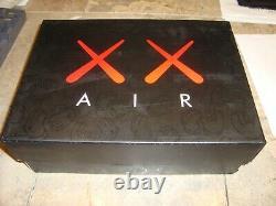 NEW Nike Air Jordan IV OG Retro 4 Jumpman x KAWS Grey US size 9.5