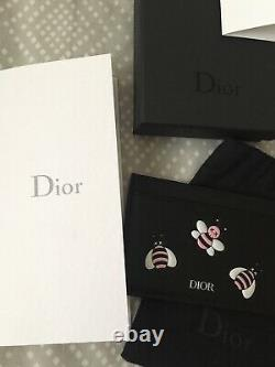 NWT Authentic Dior Kaws Pink Card Holder