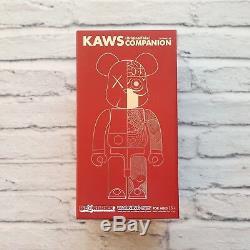 New 2009 Bearbrick Kaws Dissected Companion 400% Kubrick Japan OriginalFake