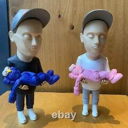 New Brian Donnelly (KAWS) Collectable Action Figure by Danil Yad (Black/White)
