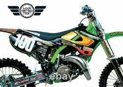 New Dirtx Industries Complete Graphics Procircuit Kawasaki Kx 85 100 125 250 450