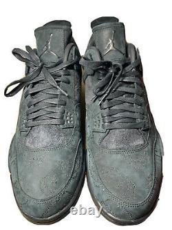 Nike Air Jordan 4 Retro Kaws Black Sample Promo Size 17