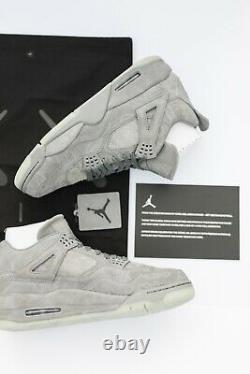 Nike Air Jordan Retro 4 Kaws Sneaker Shoe US Size 12, New