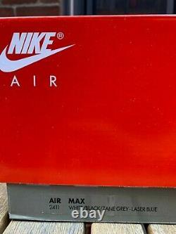Nike Air Max 90 Laser Blue/Black/White Size 10.5 US Air Max III 2020 Kaws Mens