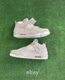 Nike KAWS x Air Jordan 4 Retro Cool Grey Size 13 930155-003