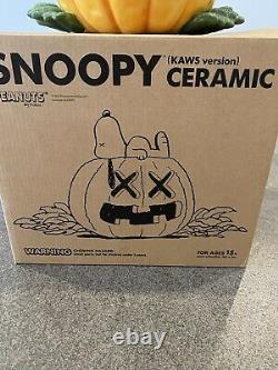 Original Fake Snoopy'Kaws Version' Ceramic Cookie Jar