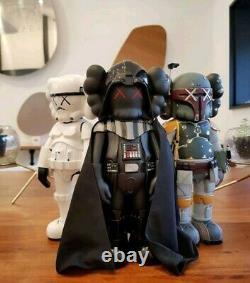 Originalfake Kaws Companion Star Wars Boba Fett Figurine. 26cm Figure in box