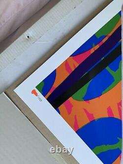 Paul Insect Crystal Habbits Blue Art Glitter Print Kaws Sorayama Murakami RARE