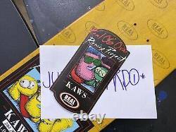 REAL KAWS Skateboard Deck Limited Remix Project Supreme Companion Original Fake