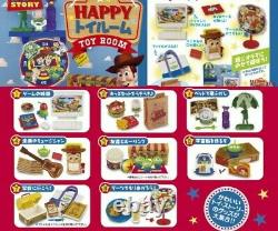 Re-ment Miniature Disney Toy story Happy Toy Room Full Set of 8 pcs