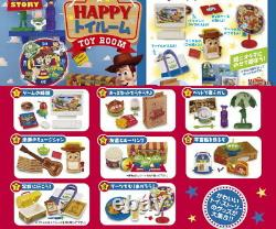 Re-ment Miniature Disney Toy story Happy Toy Room Full Set of 8 pcs Japan