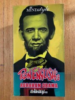 Ron English Abraham Obama Inauguration Edition Mint Mindstyle Kaws
