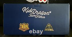 SAM FLORES KID DRAGON Purple EDITION VINYL FIGURE 1/200 LOYAL SUBJECTS Kaws