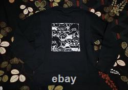 SESAME STREET KAWS XX UNIQLO Graphic Sweatshirt XL = L(US) Genuine Not Hoodie