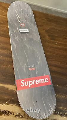 SUPREME/ KAWS Chalk Logo Skateboard Deck Red SS21 WEEK 1 AUTHENTIC/ (IN HAND)