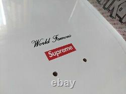 Supreme 20th Anniversary Skateboard Deck Kaws Larry Clark Damien Hirst LV
