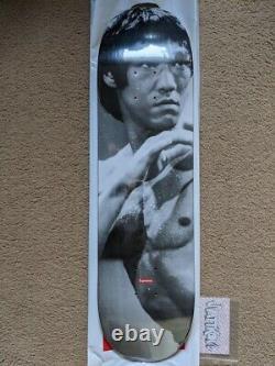 Supreme Bruce Lee Skateboard Deck Joy Division Kaws Larry Clark Damien Hirst LV