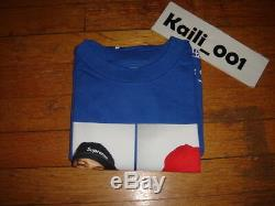 Supreme Three 6 Mafia Tee Size XL Blue OG Kaws Moss Vintage KERMIT Tyson 3 6