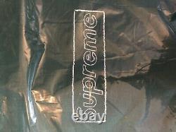 Supreme X Kaws Chalk Box Logo Hoodie Sweatshirt Light Pine Green SZ M IN HAND