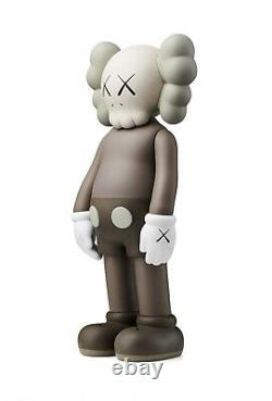 Trusted seller! Kaws Companion OPEN EDITION Brown Vinyl Figure separated