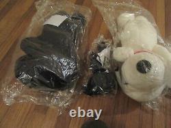 UNIQLO KAWS x PEANUTS SNOOPY Plush Toy Set of 4 White Black Large Small Ltd New