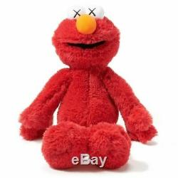 Uniqlo X Kaws X Sesame Street Cookie Moster/ernie/elmo/big Bird/bert Plush New