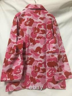Unused 30 LTD Bape ABC Camo Pink Pajamas Set Size L OG Nigo Kaws Milo Sta Ape